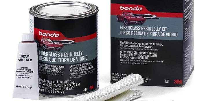 Using Fiberglass Resin Jelly for Repairing Car Dents