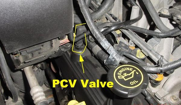 pcv valve location dodge dodge ram pcv hose
