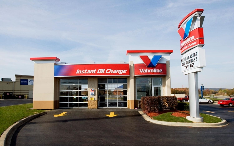 Valvoline Oil Change Prices and shop