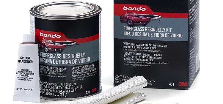 Using Fiberglass Resin Jelly for Repairing Car Dents