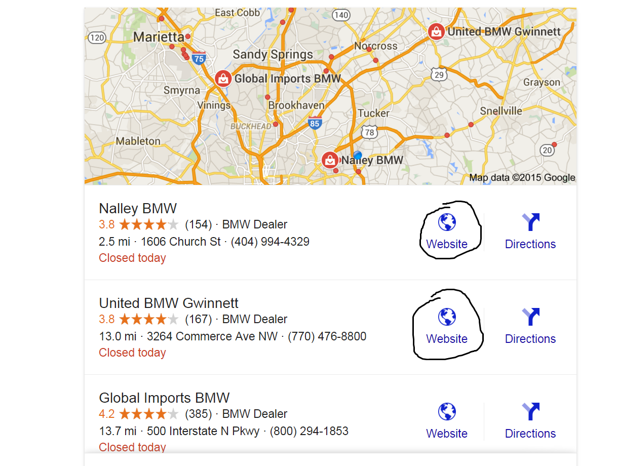 BMW dealership list - current coupons