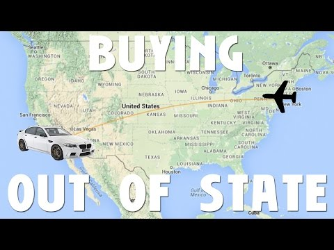 What To Consider When Buying A Car Out Of State