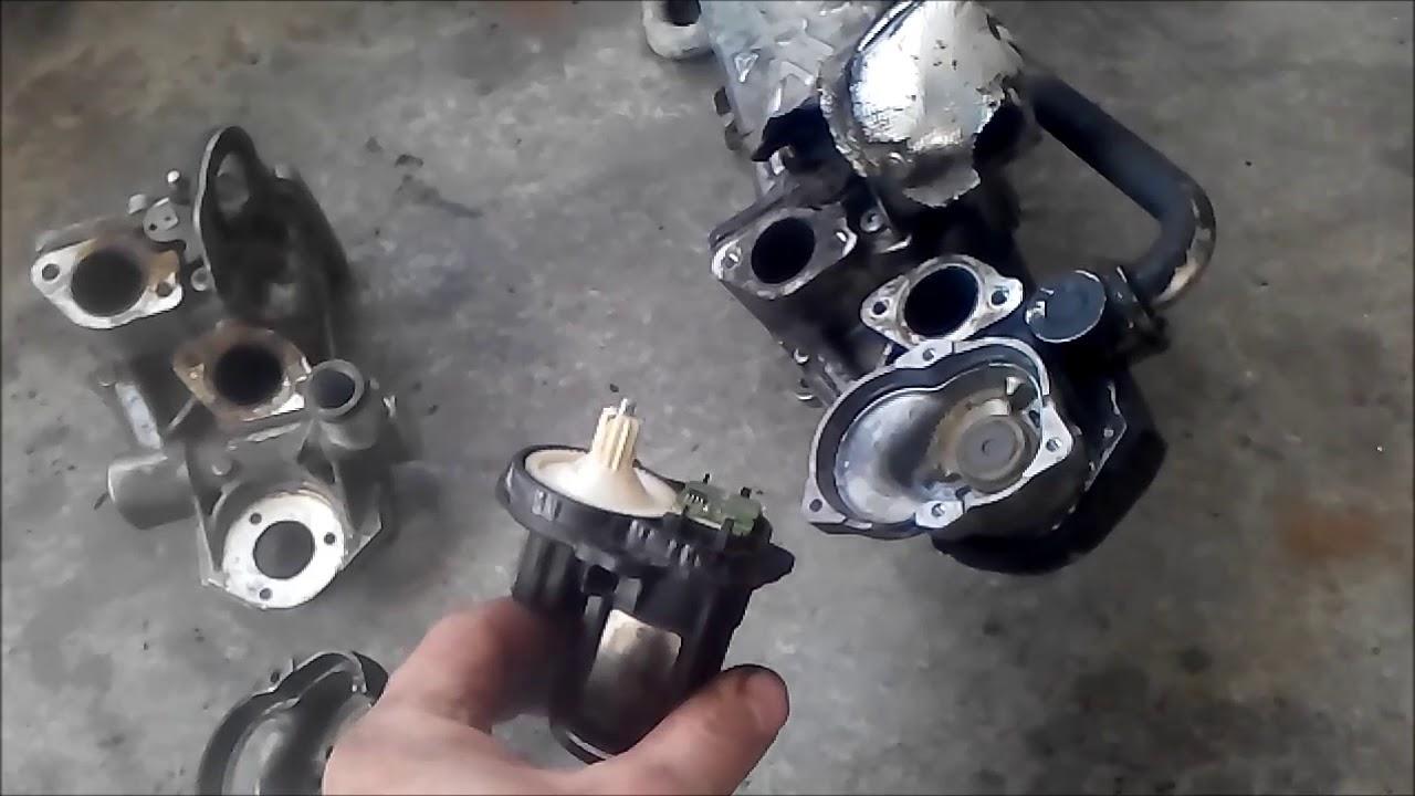 egr valve re-shaping