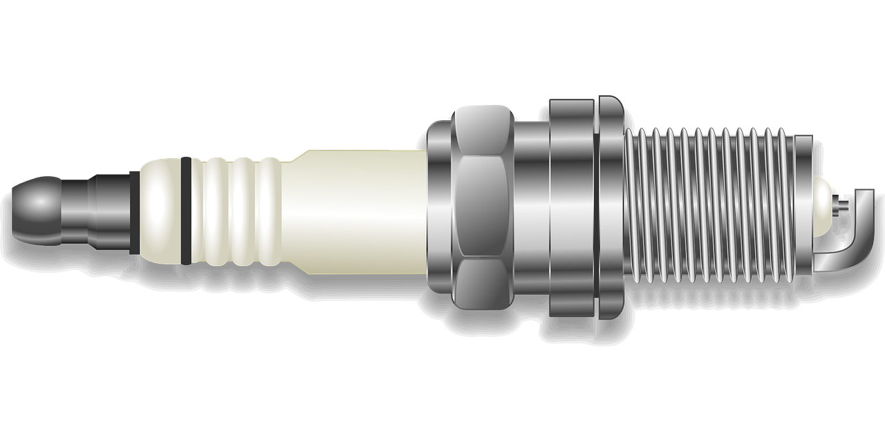 Illustration of a spark plug